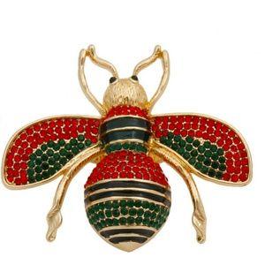 Rhinestone Bee Ring